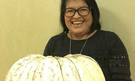 And the pumpkin contest winner is… Irine R!